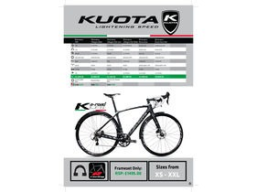 Kuota K-Allroad Disc Gravel Dura Ace Di2 click to zoom image