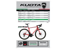 Kuota Kougar Disc Dura Ace click to zoom image